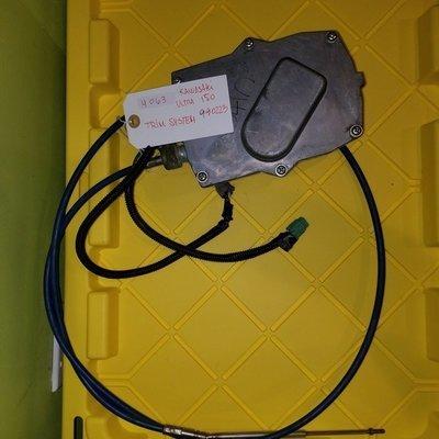 990223 KAWASAKI ULTRA 150 TRIM SYSTEM W/ CABLE
