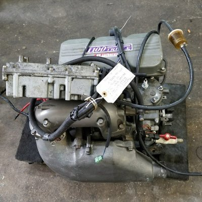 cmComplete engine w. accesories *Carbs * Exhaust * Computer * harness * Cdi
