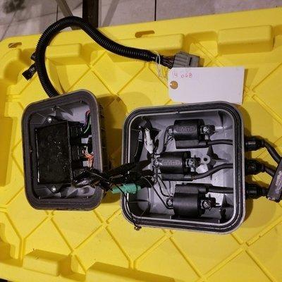 KAWASAKI 3757 58T345 75 9614 COMPLETE ELECTRICAL BOX UNIT