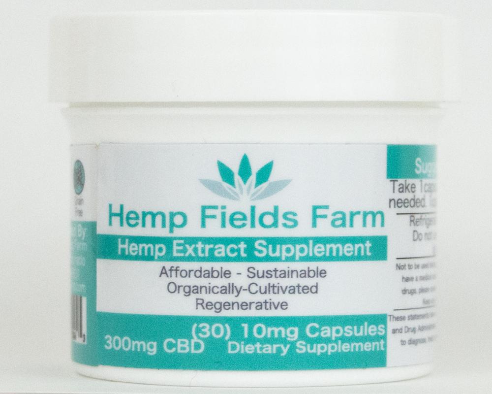 300mg Full-Spectrum CBD-Rich Hemp Extract Oil Capsules 00006