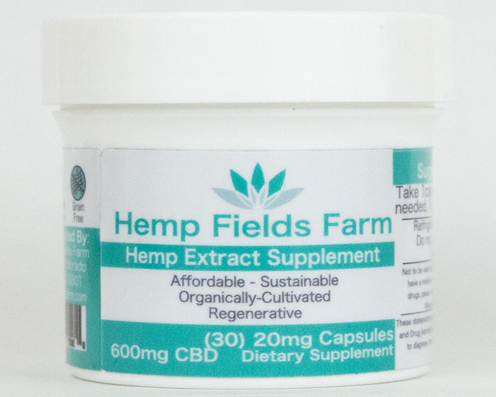 600mg Full-Spectrum CBD-Rich Hemp Extract Oil Capsules 00007