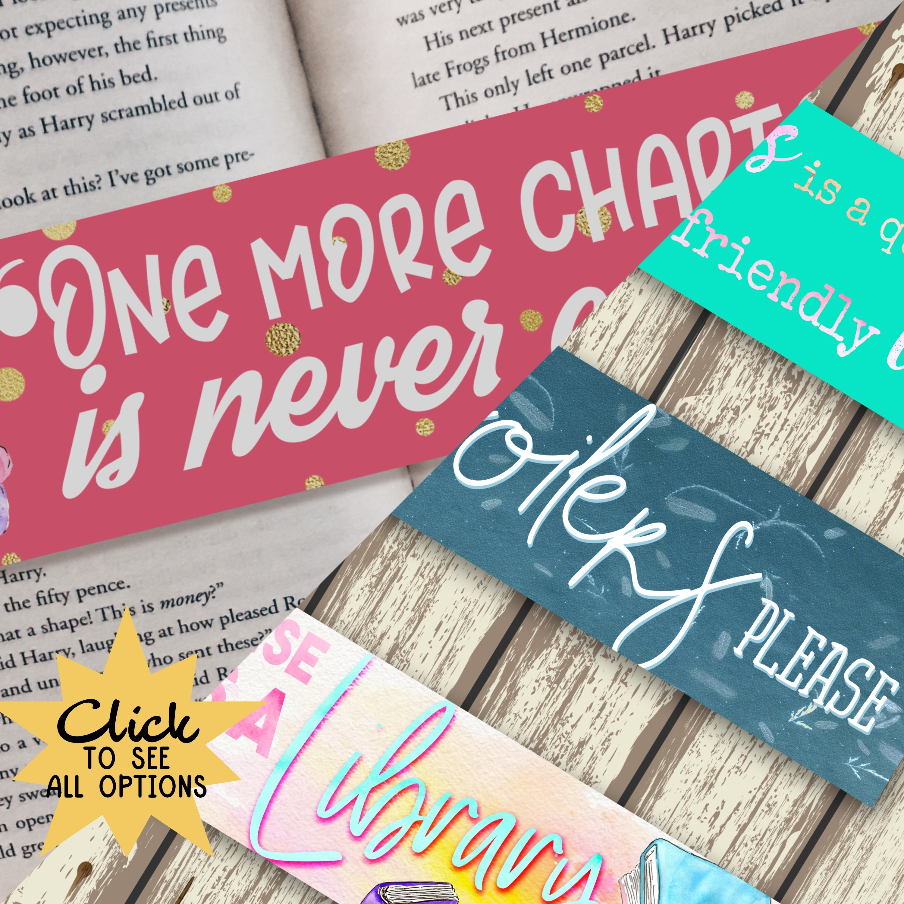 Book Lovers Bookmarks 122114-44