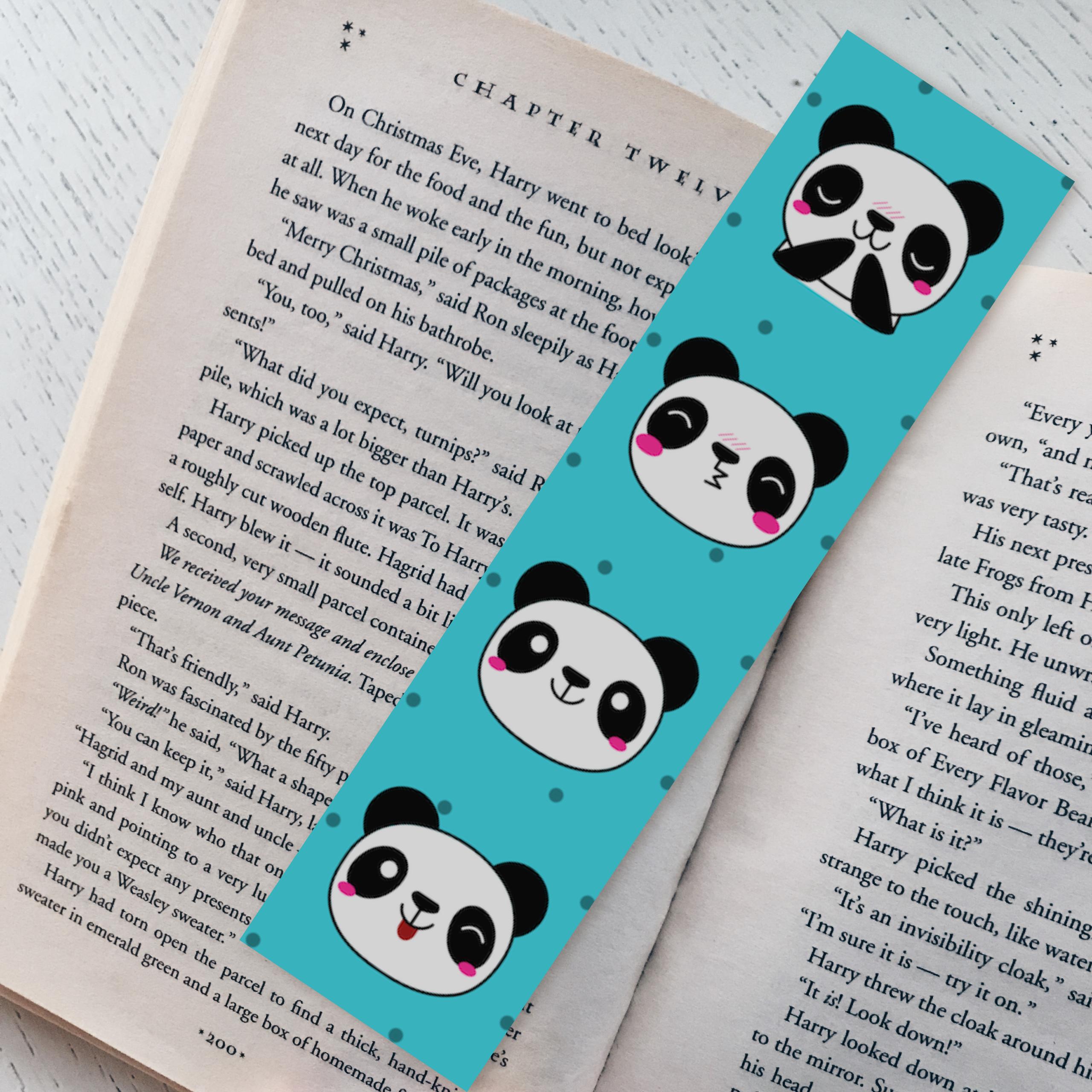 Panda Face Pattern