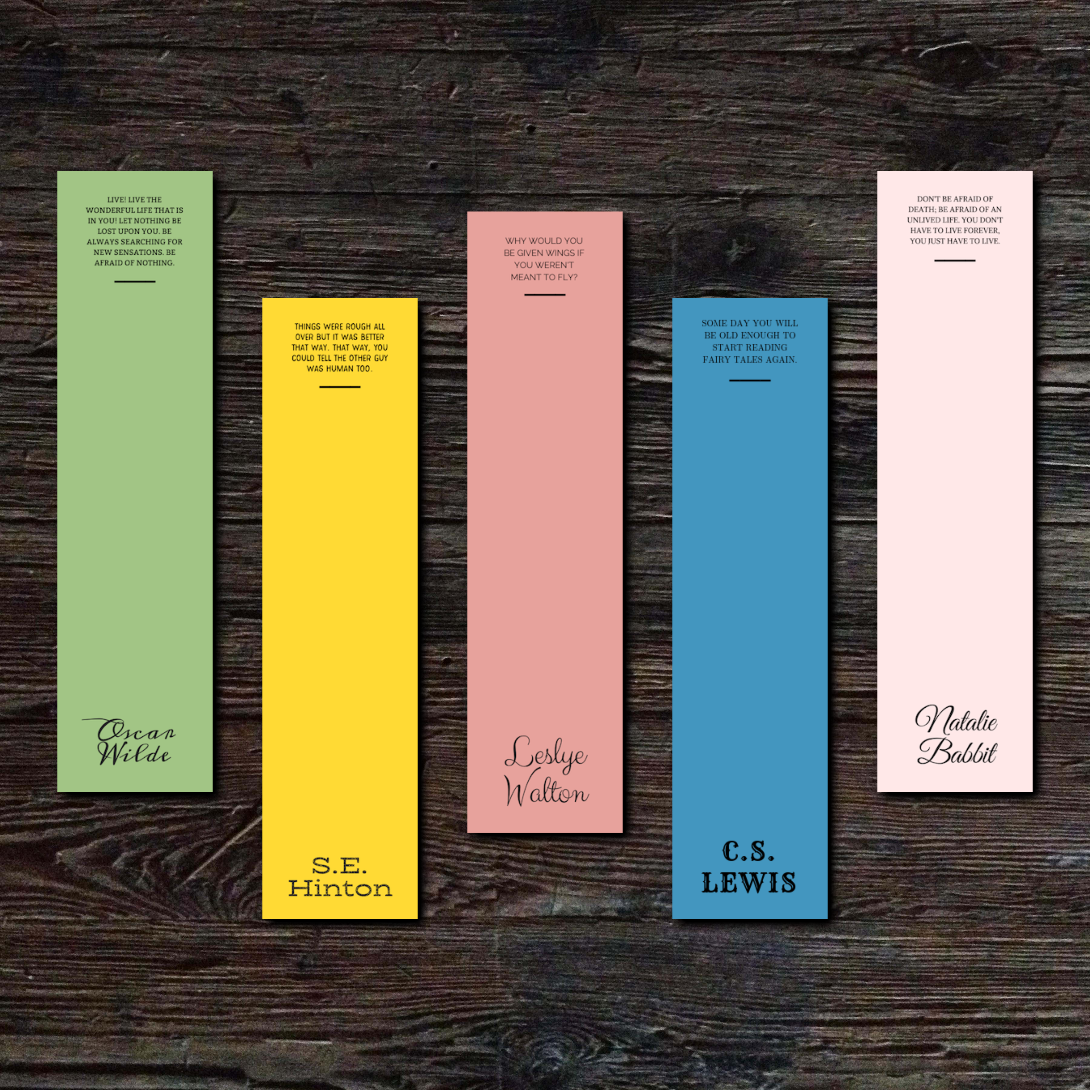 4:44 Style Quote Bookmarks