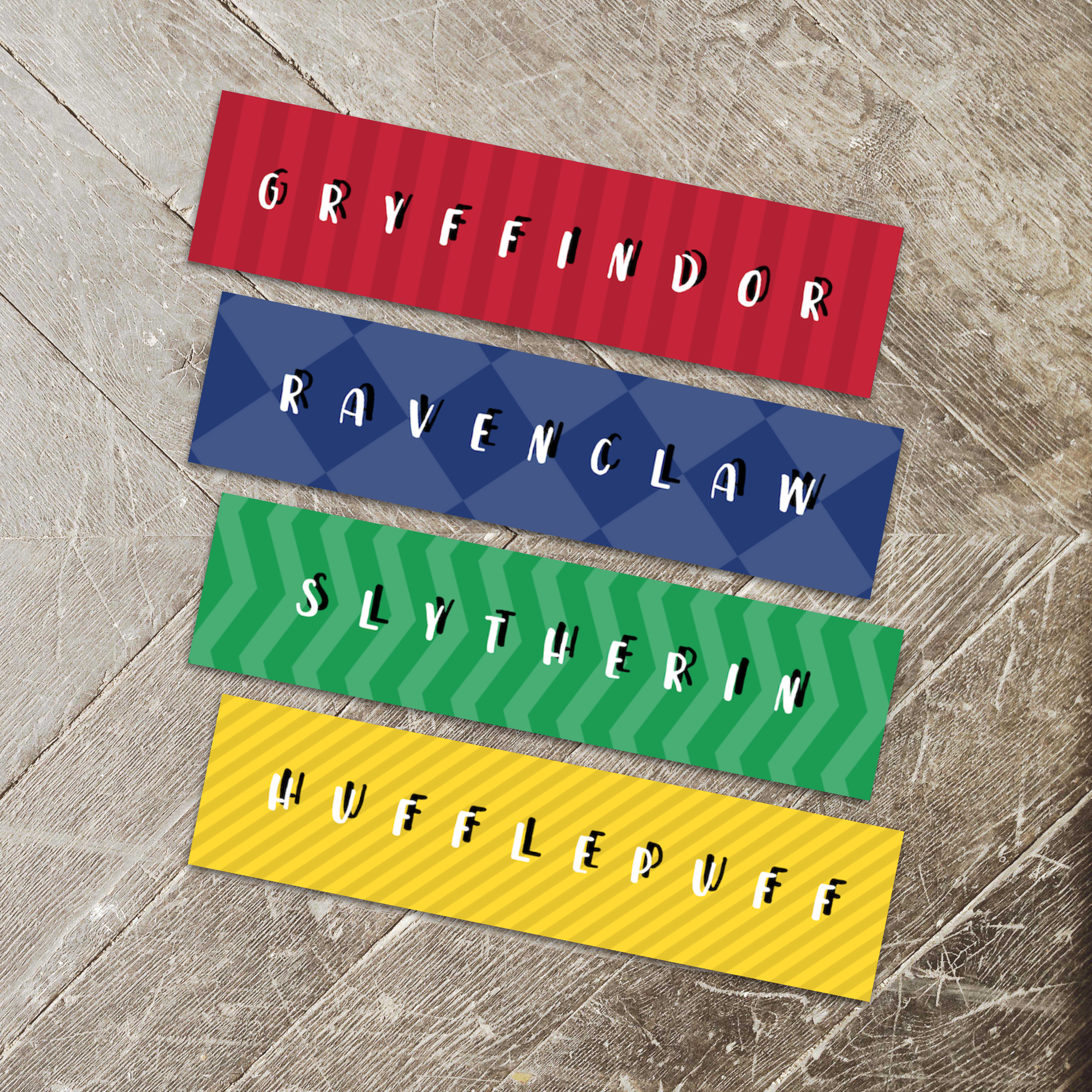 Harry Potter Simple House Bookmarks 122114-13