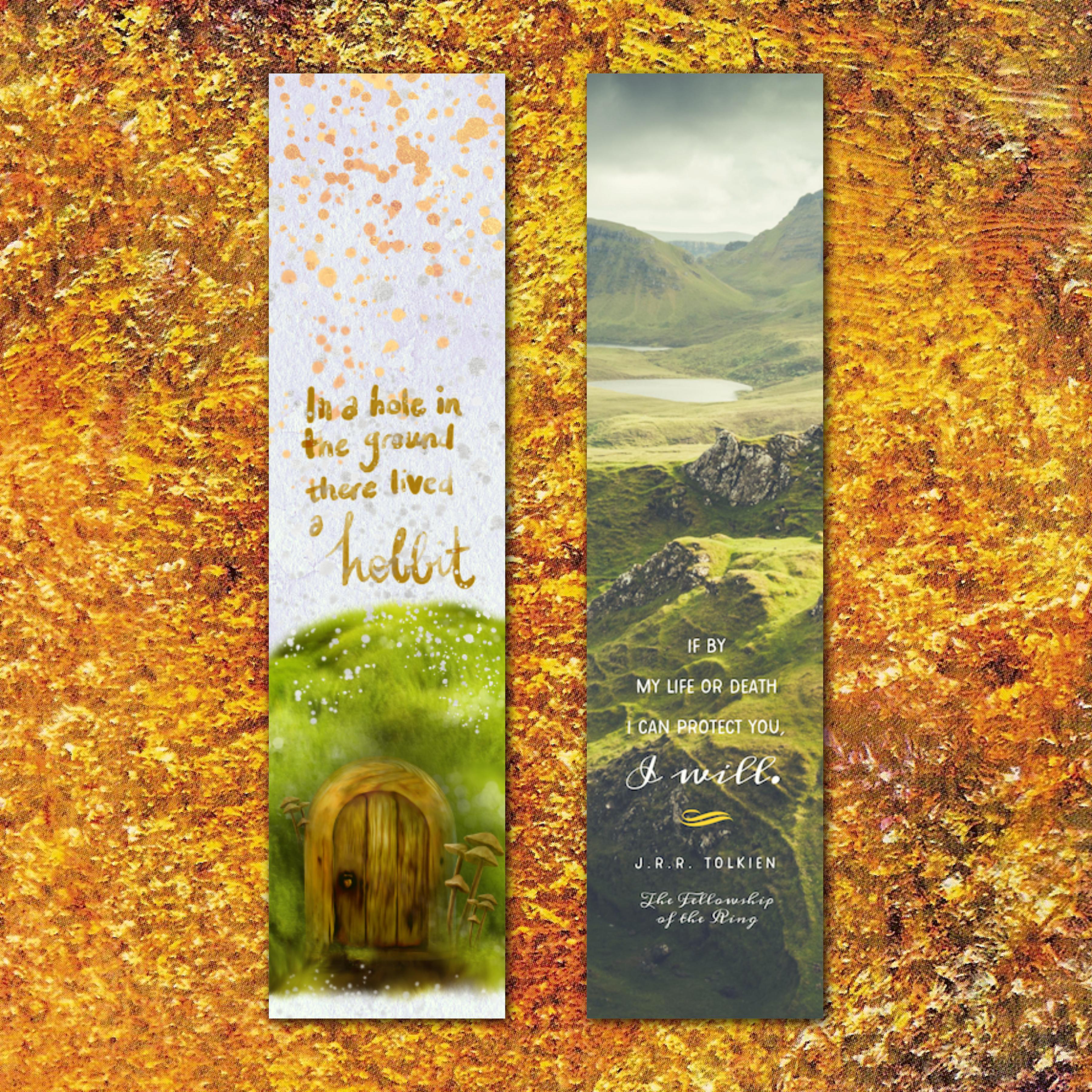 Tolkien Bookmarks 122114-20