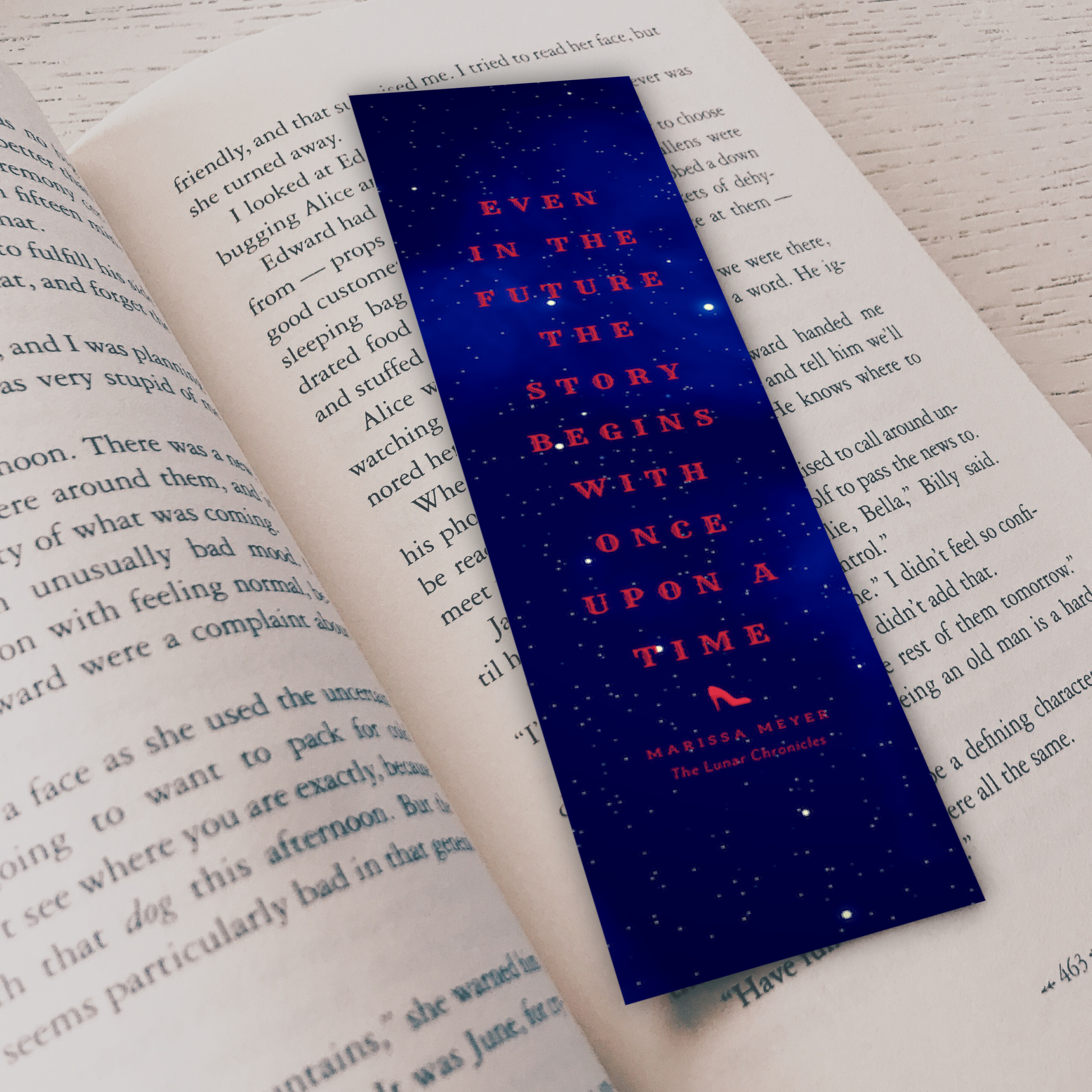 Lunar Chronicles Bookmark 122114-29