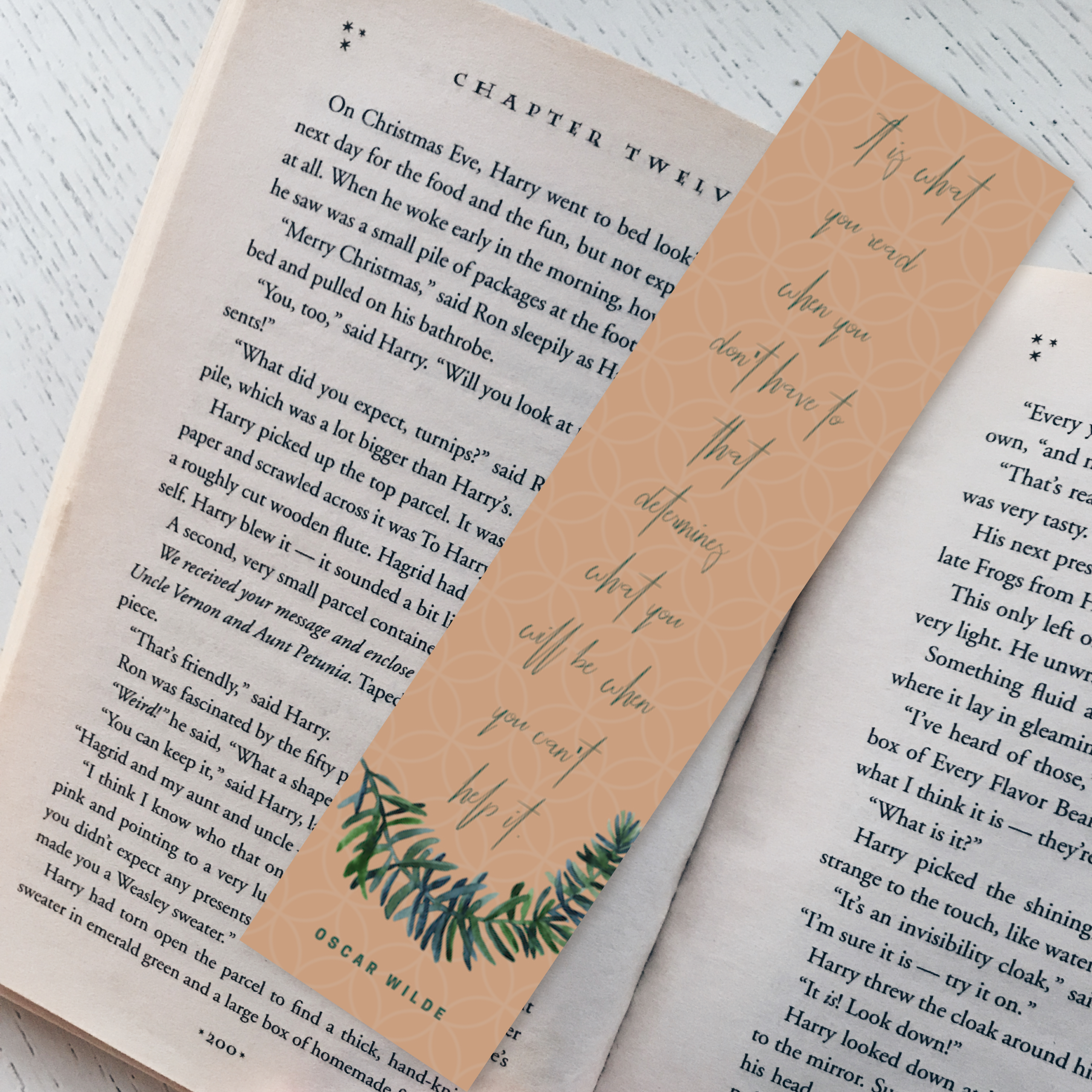 Oscar Wilde Bookmark 122114-36