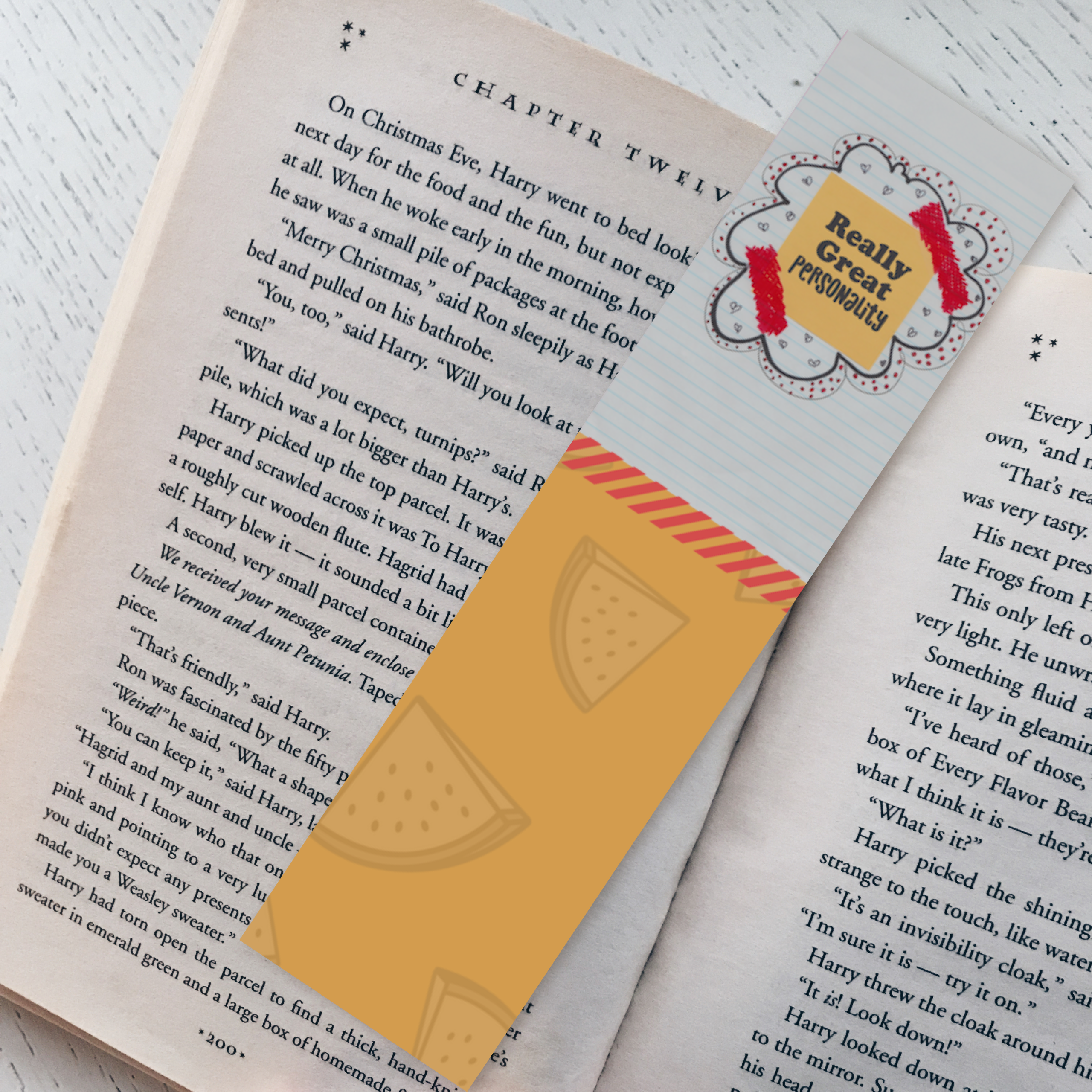 """""""Really Great Personality"""" Bookmark"""