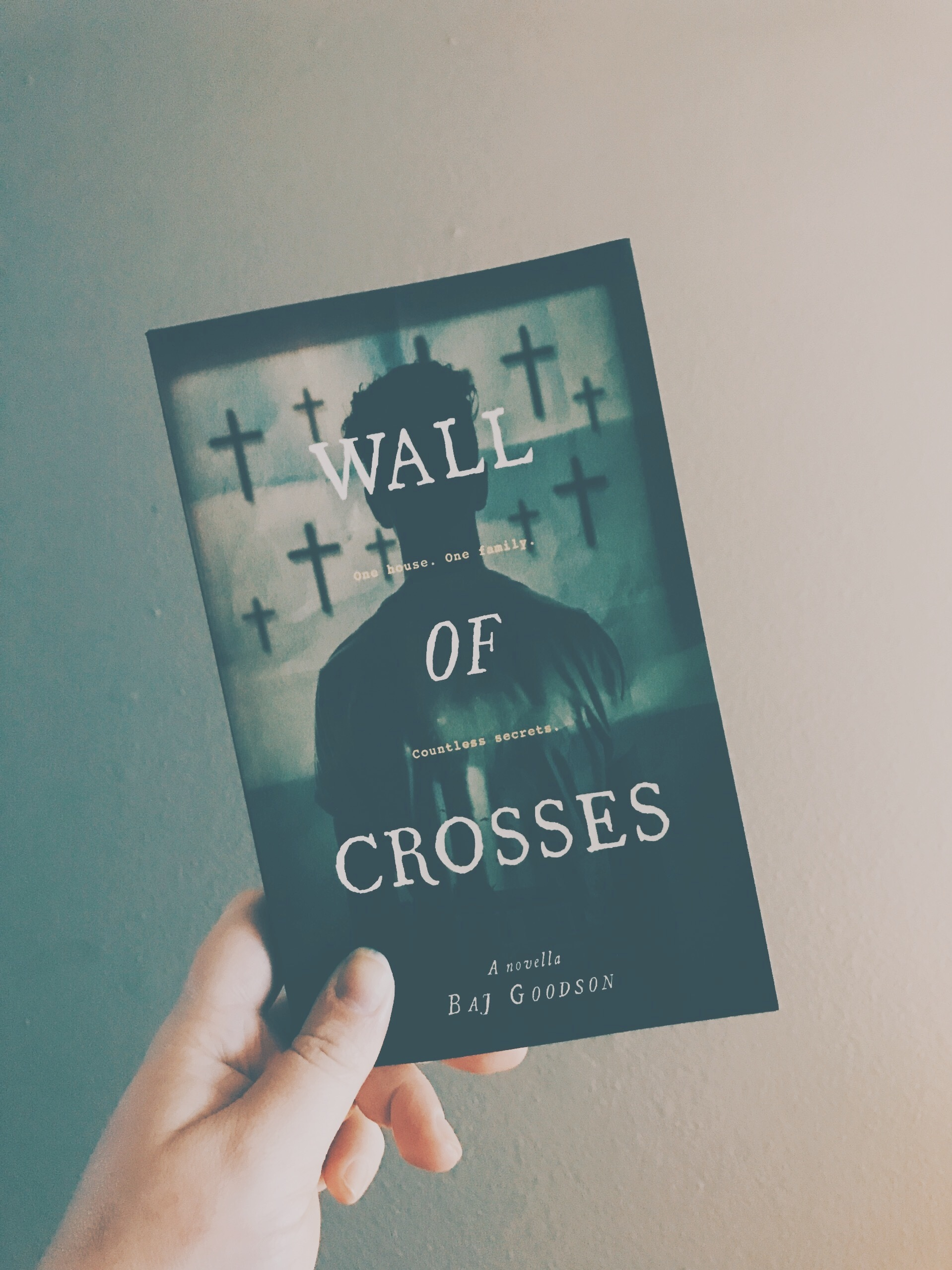 Wall Of Crosses | Signed Paperback