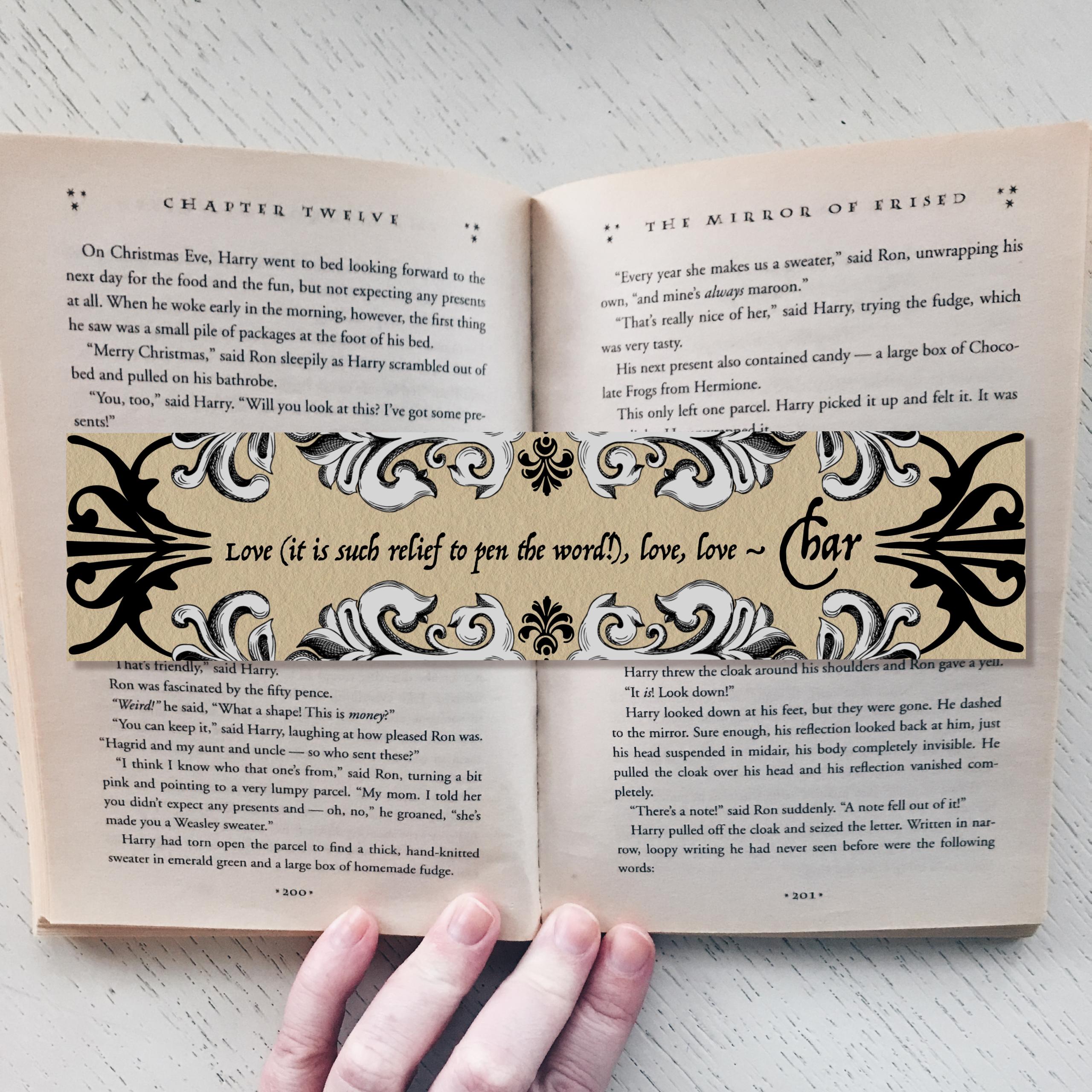 Ella Enchanted Bookmarks