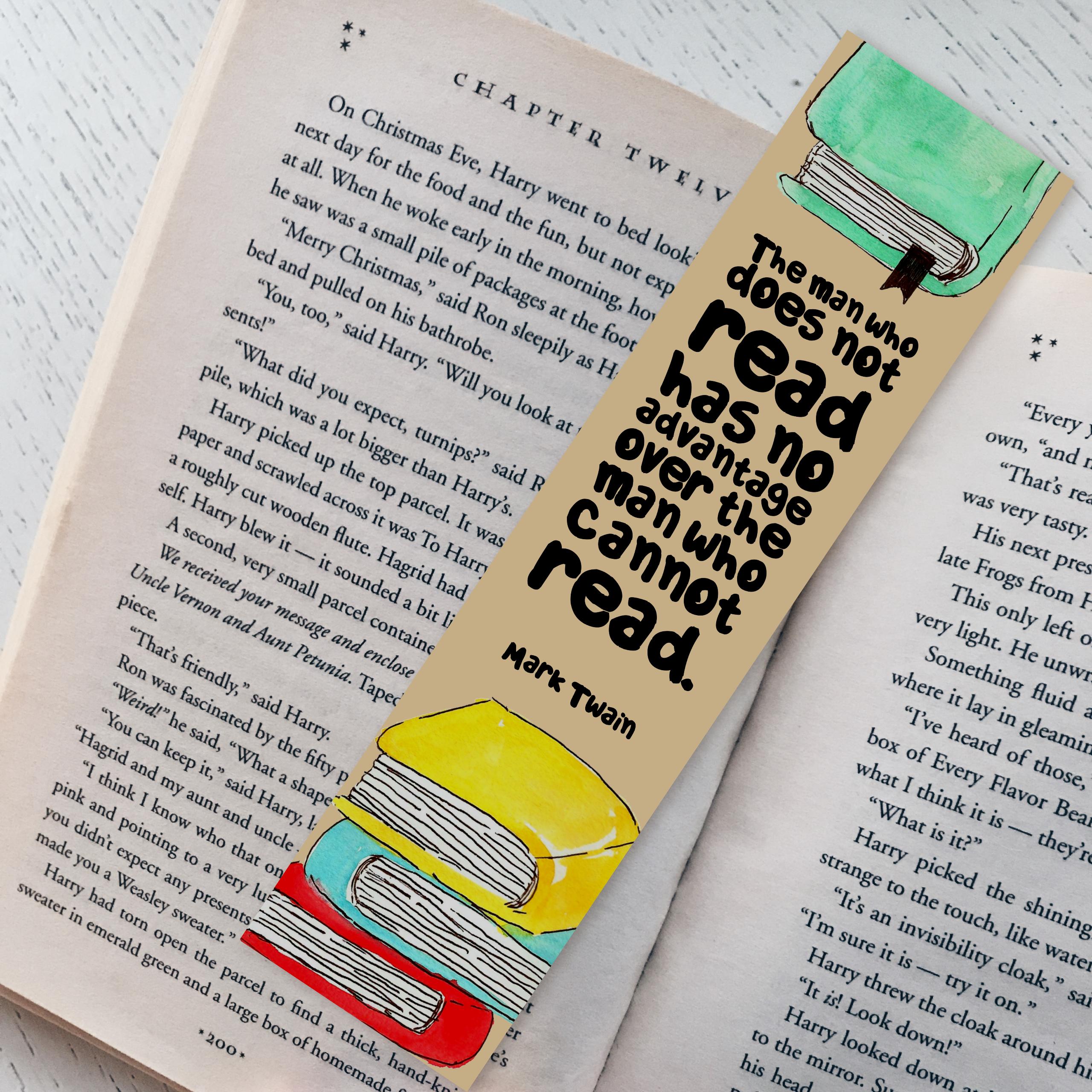 Mark Twain Bookmark 00005