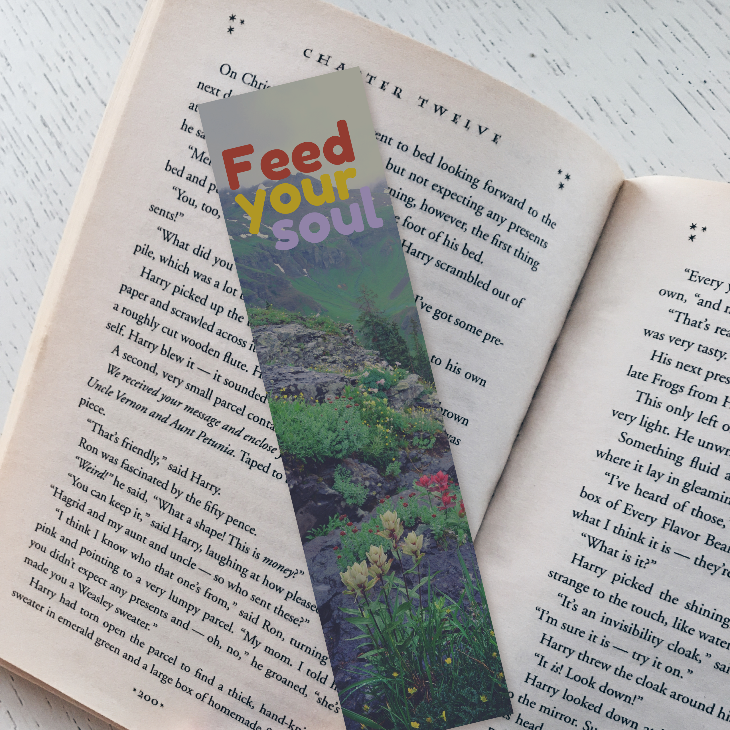 Feed Your Soul Bookmark 00007