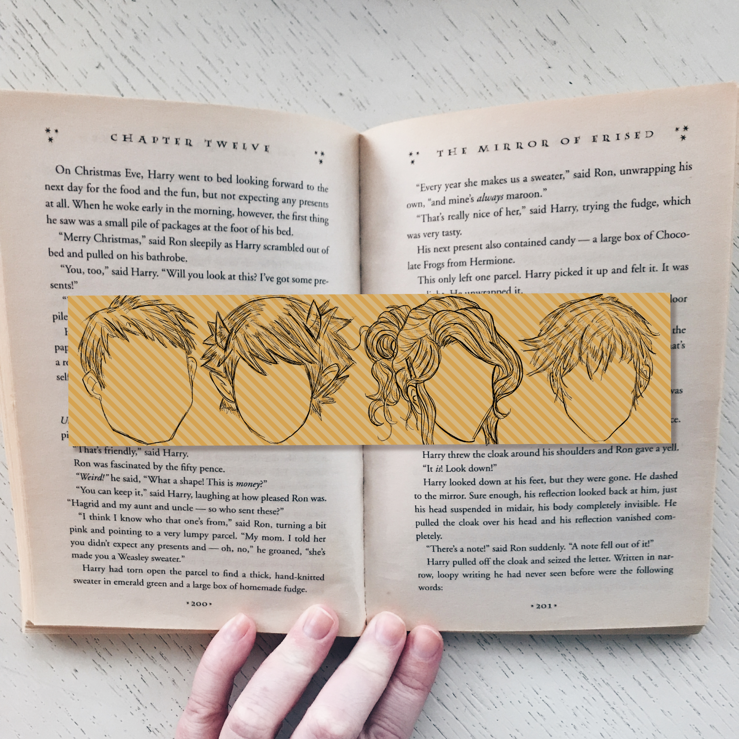 Percy Jackson and the Olympians Character Silhouette Bookmark 122114-32