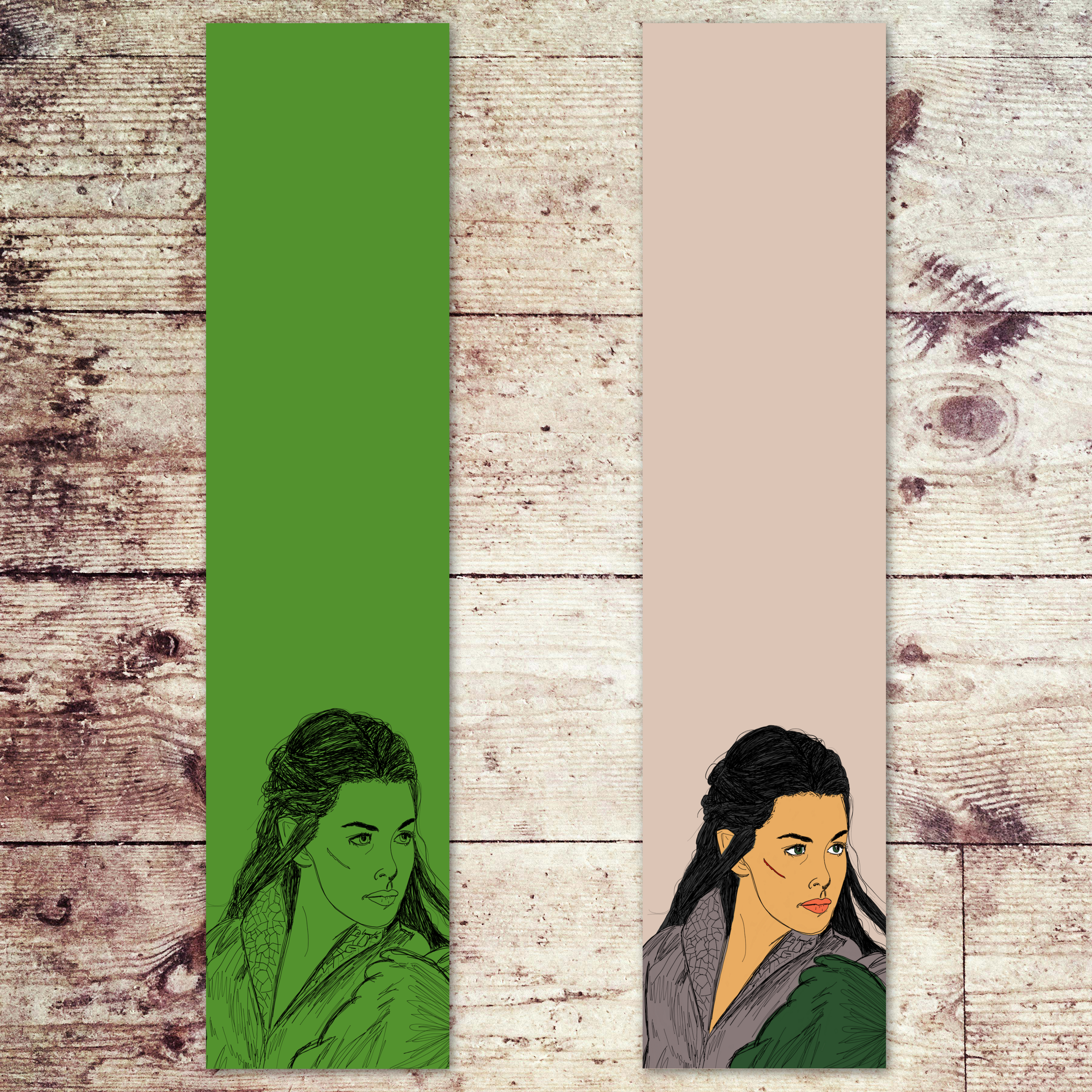 Arwen Lord of the Rings Bookmarks 00004