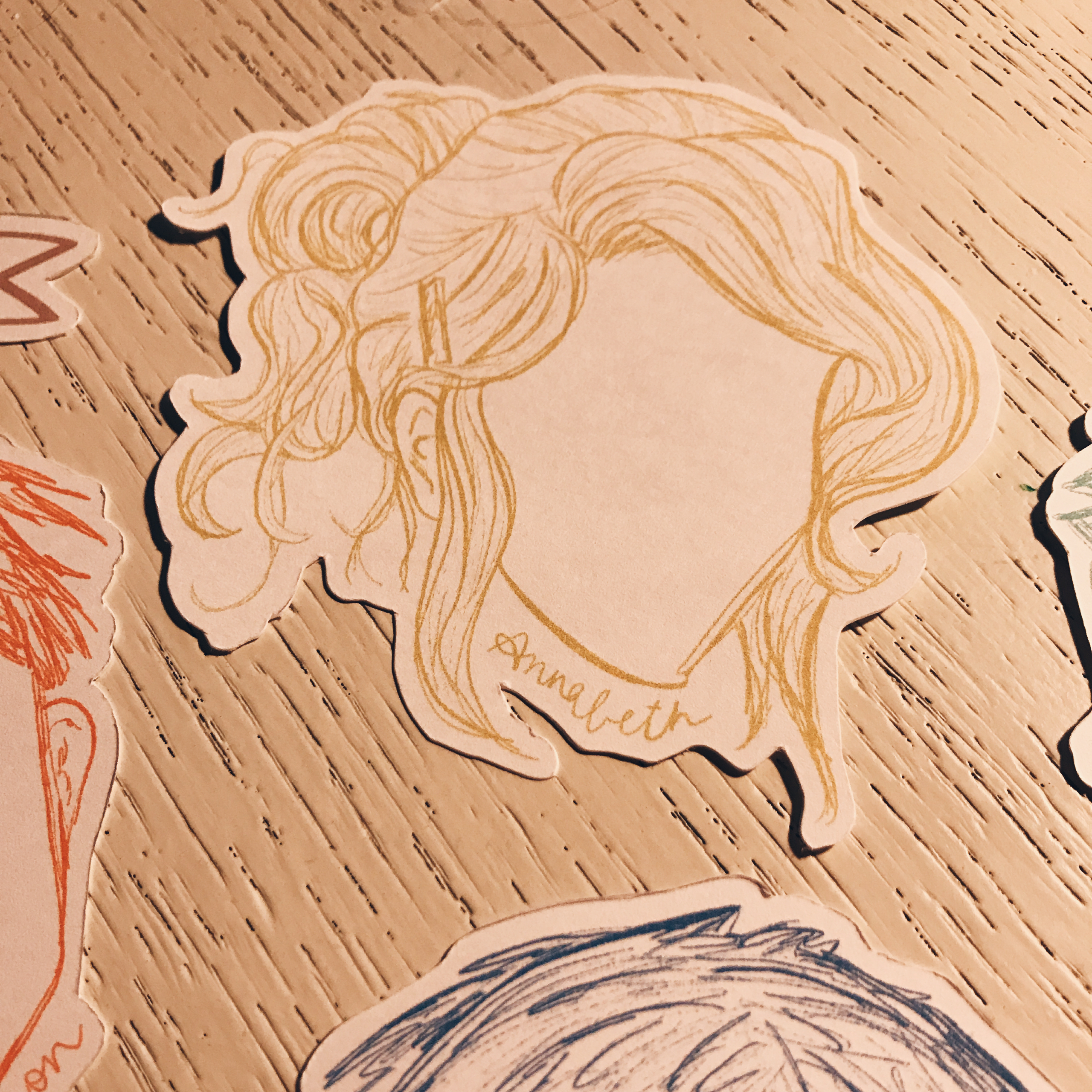 Percy Jackson and the Olympians Die Cut Bookmarks