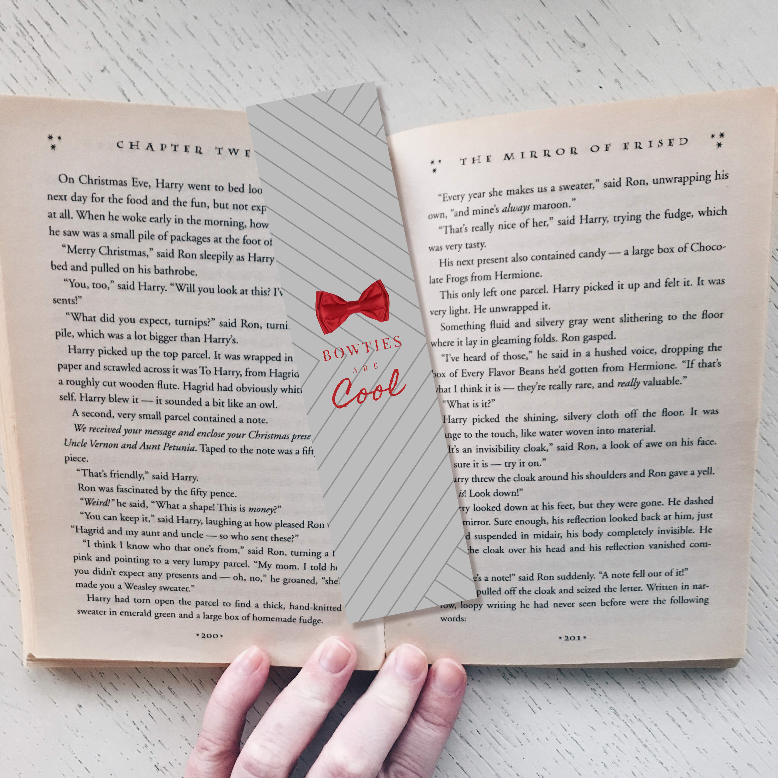 """Dr. Who """"Bowties Are Cool"""" Bookmark 00015"""