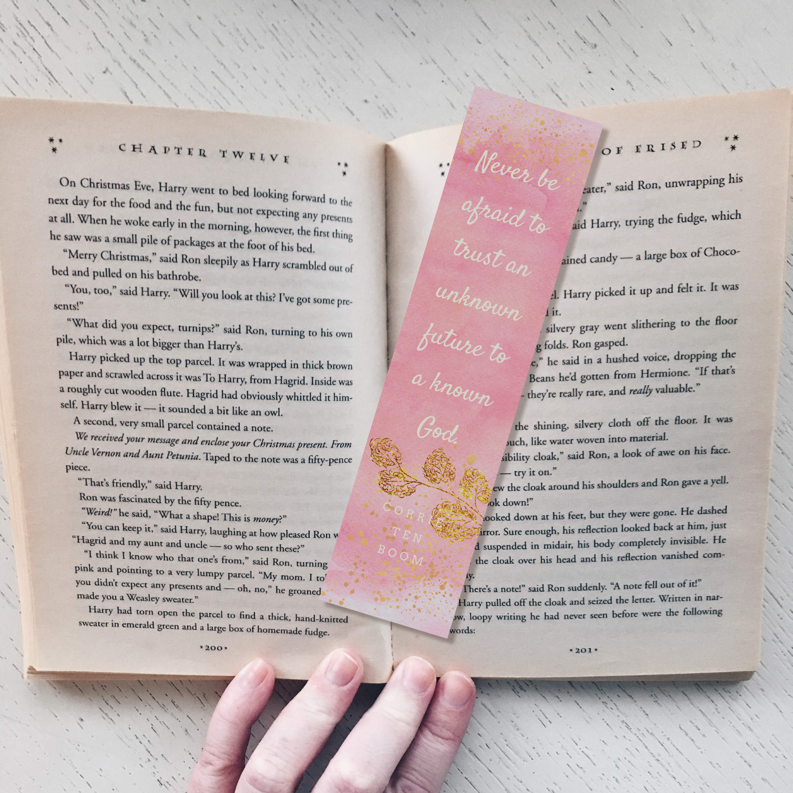 Corrie Ten Boom Bookmark 00016