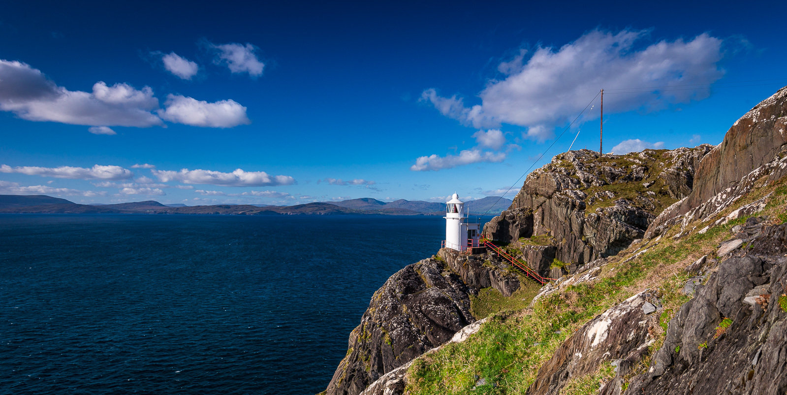 Sheep's Head Lighthouse, West Cork, Ireland. Sheep's Head Lighthouse - 1.