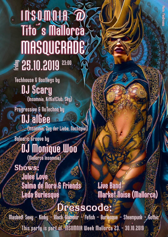 INSOMNIA Berlin @ Tito's Mallorca - Masquerade