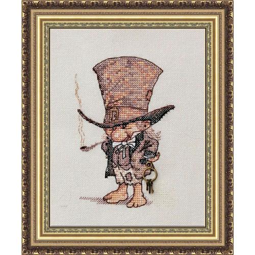 Джентльмен в шляпе мн-02