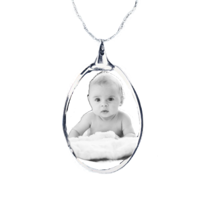 Photo Crystal Pendant