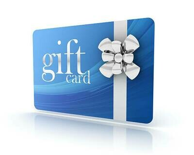 Gift card - £25 / £50 / £100