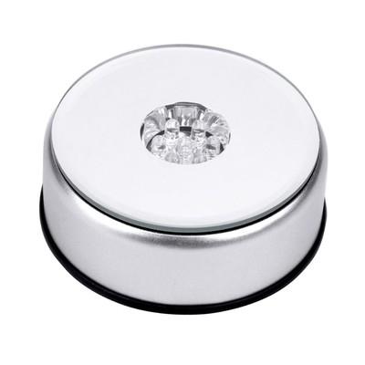 White LED Light Base - Battery Operated