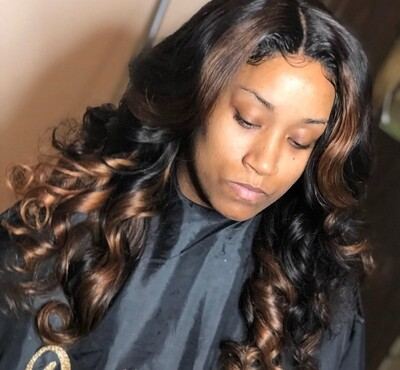 Brazilian Loose Body Wave Lace Closure Wig Units