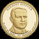США 1 доллар, 2014 год. 31-й президент Герберт Гувер. 00247