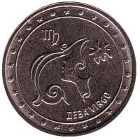 1 рубль. 2016 год, Приднестровская Молдавская Республика. Дева. 00463