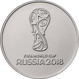 25 рублей 2018 года Футбол -1 00504