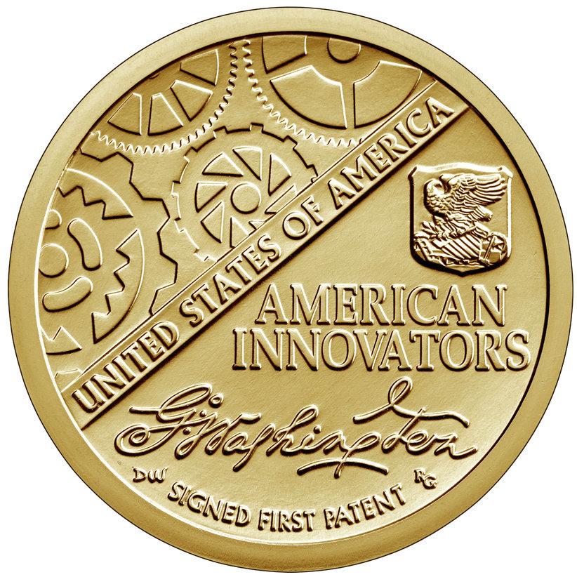 США 1 доллар, 2018 год. Американские инновации 00565