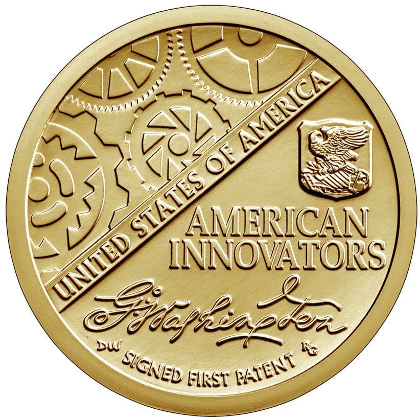 США 1 доллар, 2018 год. Американские инновации