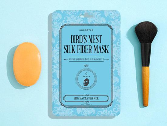 Bird's Nest Silk Fiber maska