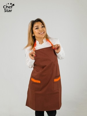 Фартук Каркаде (Karkade), Bordo, Chef Star