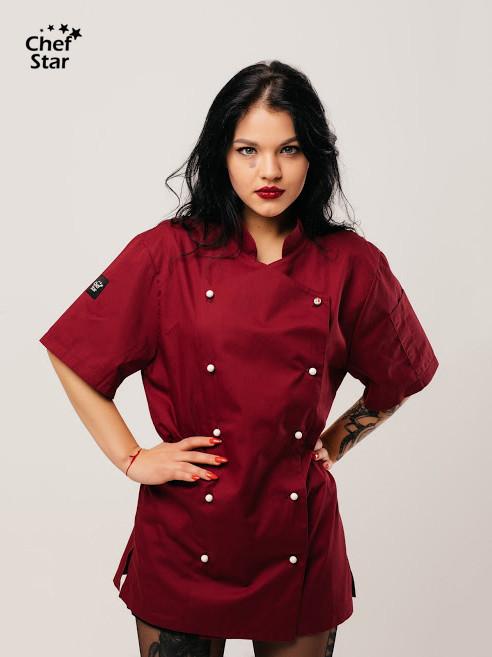 Китель Salsa (Сальса), Bordo, Chef Star