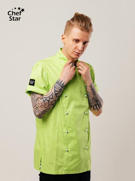 Китель Salsa (Сальса), Green, Chef Star