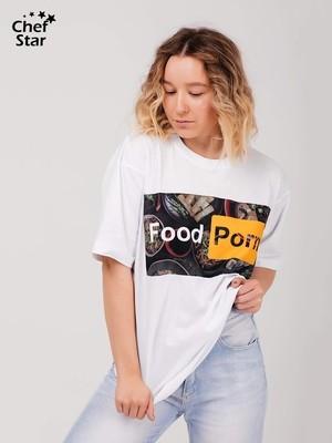 Футболка Food Porn (Фуд порн), Chef Star