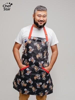 Фартук Sake (Саке), Chef Star