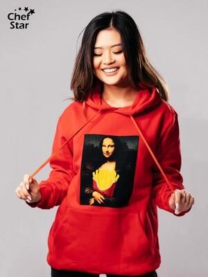 Худи Mona Lisa (Мона Лиза), Red, Chef Star
