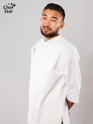Китель Wasabi (Васаби), White, Chef Star