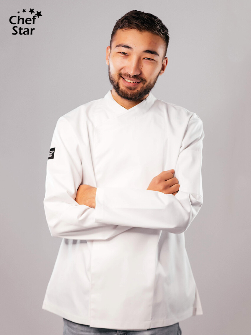 Китель Teriyaki (Тэрияки), White, Chef Star