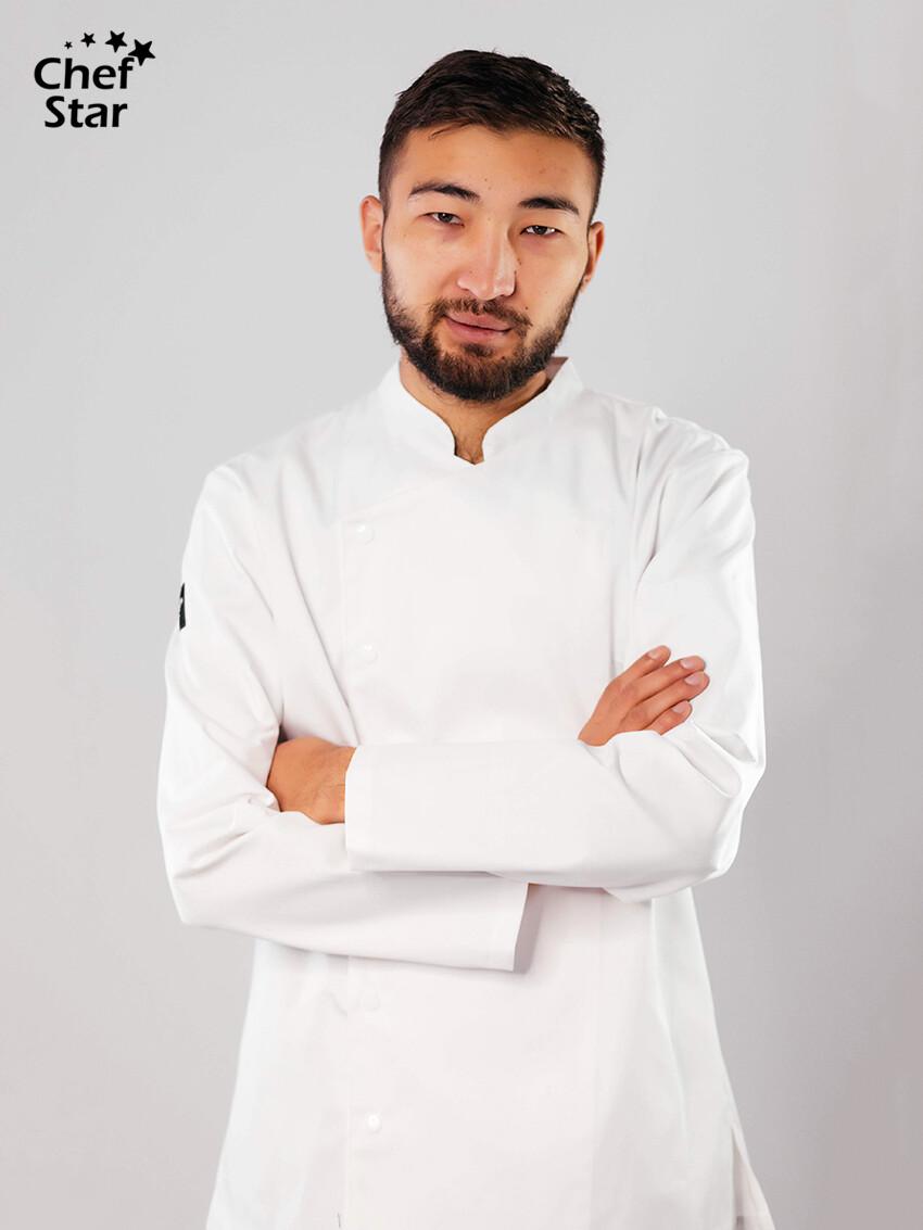 Китель Сurry (Карри), White, Chef Star