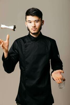 Китель Teriyaki (Тэрияки), Black, Chef Star