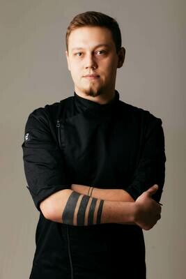 Китель Wasabi (Васаби), Black, Chef Star
