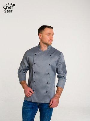 Китель Salsa (Сальса), Grey, Chef Star