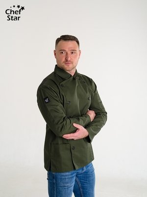 Китель Caesar (Цезарь), Khaki, Chef Star