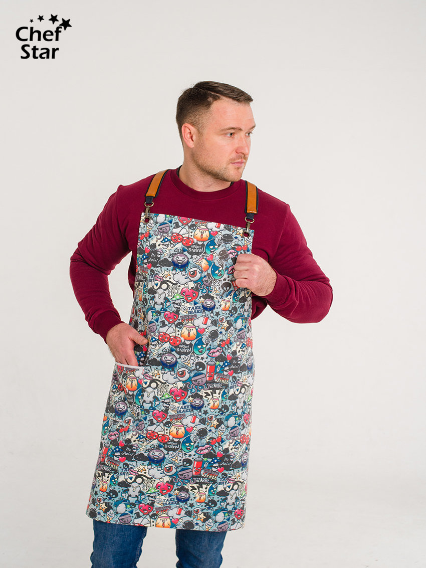Фартук Punch (Пунш), Chef Star