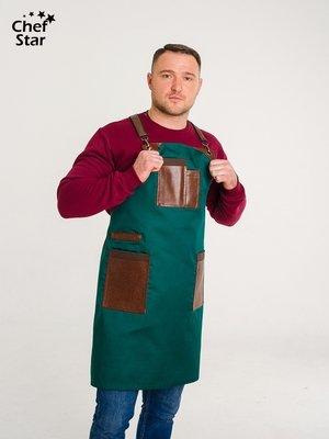 Фартук Gin (Джин), Dark Brown, Chef Star